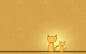 Orange Cats by surlana
