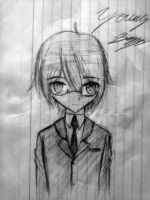 Young Seyo - Pencil by UnitInfinity