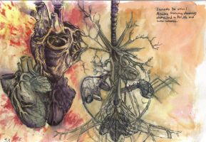 Autopsy tree-water color by ShadiChizu