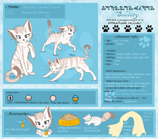 Cleo Reference Sheet by kisini