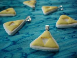 triforce charms by SourKiss