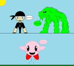 Toby and Slime meets Kirby by 115spartan