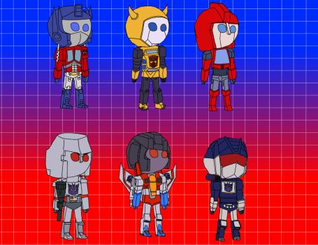 Tranformers G1 Tinies by WynautWarrior