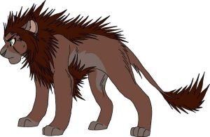 Lion OC Point Adopt 2 GONE by KasaraWolf