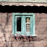 Green window by martaraff