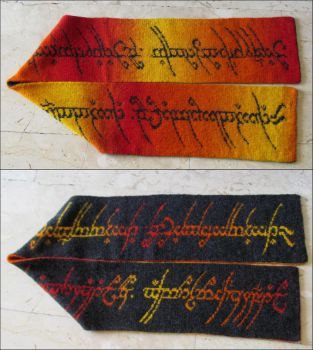 Lord of the Rings Scarf #3 by AllSunday10