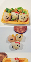 Hello Kitty Rice Balls - scap picture by WaterGleam
