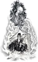 Lone Wolf and Cub by carrion-christ