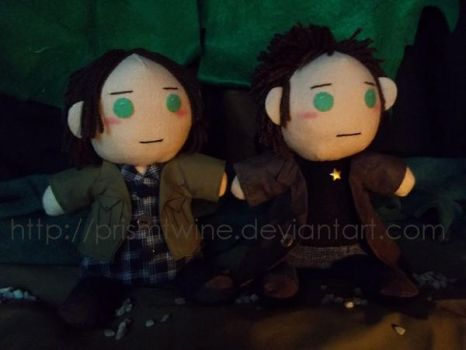 ::Commish:: Winchesters again by prismtwine