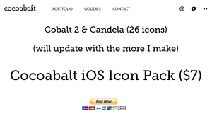 Cocoabalt iOS icon pack by morgcar