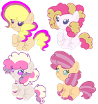 CheesePie Shipping Adopts (1/4 OPEN) by LexiPika-Adopts