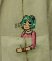 Ramona Flowers paper child by Andres-Morales