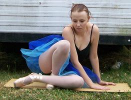 Ballet - Full Body 18 by Gracies-Stock