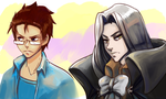 Quintus and Alucard by Arenheim