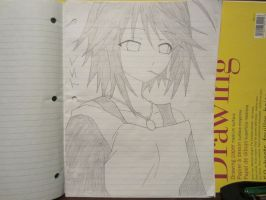 Mizore (Old Drawing) by XxSgtCampbell