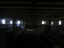 Spooky Barn by dull-stock