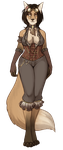 Premade - Steampunk Vixen - Sold by danielleclaire