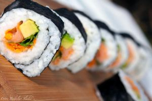 today on the menu we have sushi by budislav