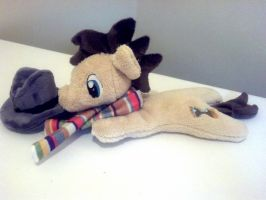 Fourth Doctor Hooves by NerdyMind