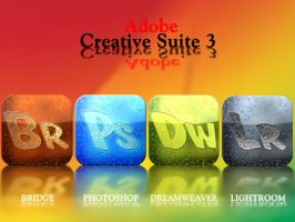 Adobe Creative Suite 3 icons by klen70