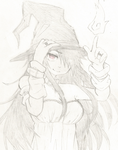 Witch Girl by TomaHarrisaw