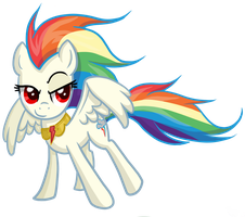 Super Rainbow Dash by TheCheeseburger