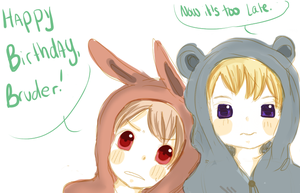 APH: Happy Birthday Bruder by Assby