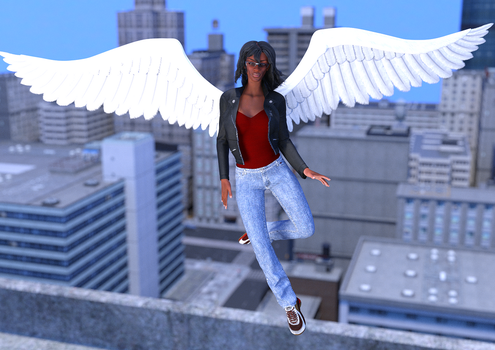 Angel of the City by TheCoolfreak