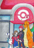Blackthorn Pokemon Center by Kitsune-Kit-Kaguya