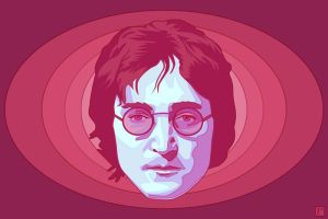 John Lennon by monsteroftheid