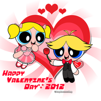PPGs - Happy Valentine's Day 2012 by DaphInteresting