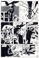 dr death vs zombie page INSPIRED BY STERANKO by kaviart