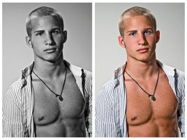 From The Vault: Chris 11 by usagicassidy