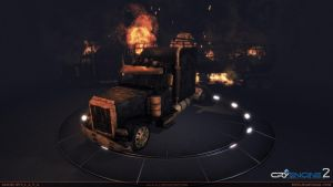American_Truck_Damaged by S-L-A-V-A