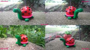 Watermelon the Tortuga Jr. by Kame-ami