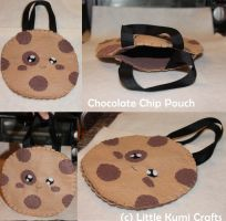 Chocolate Chip Pouch by lkcrafts