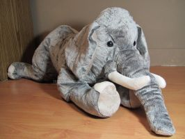 Elephant Plush Animal by AnimalArtKingdom