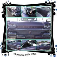 Oldmobile 98th 1958 by mickeyrony