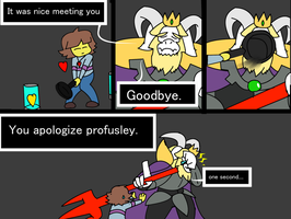When you press [Z] to quickly in a pacifist run. by ADay40
