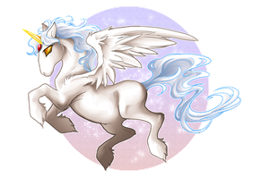..:::Chibi Pegasus:::.. by WhiteSpiritWolf