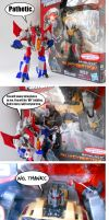 Fall of Cybertron Grimlock: IT'S LOOSE by Homicide-Crabs
