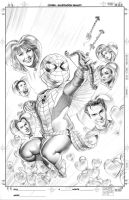 Spider-Man 605 Cover Pencils by mikemayhew