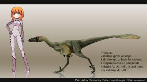 Troodon by Christopher252