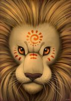 Sun Lion by jrtracey