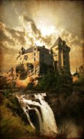 Castle on the River by Lady-Trevelyan