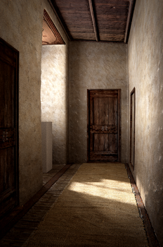 Hallway (unfinished) by Cortaderia