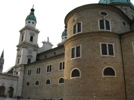 Salzburg Cathedral by juditithil