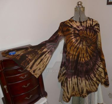 Skirt to Flared Full Shirt by Eliea