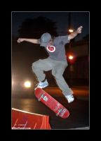 kickflip to boardslide by panic8