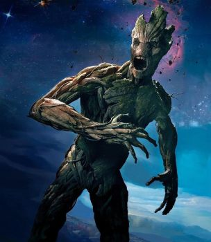 Guardians Of The Galaxy - Biggest Groot by JLondon-64